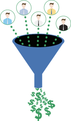 Sales funnel bottleneck